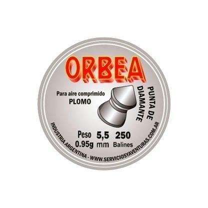 Balines Orbea Punta Diamante 5.5 mm x 250 unidades