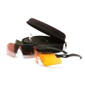 Gafas de Tiro Balístico Pyramex Dropzone 4 lentes intercambiables