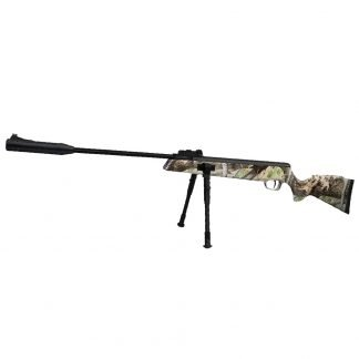 Rifle Aire Comprimido Nux SR1000 Elite Camo Nitro Pistón con Bípode