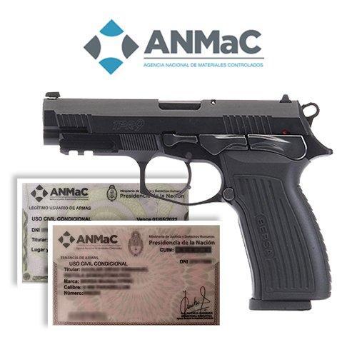 requisitos para comprar un arma en Argentina