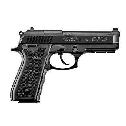 Pistola Taurus 9mm PT917 con Riel Picatinny