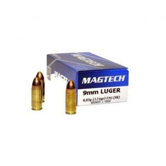 Balas Magtech 9mm 124gr