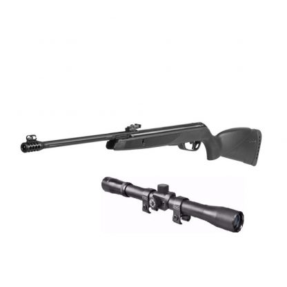 Rifle de Aire Comprimido Gamo Black Bear Resortero con Mira 4x32
