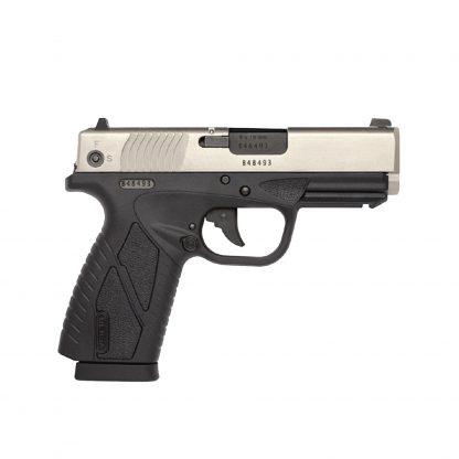 Pistola Bersa BP380CC Dos Tonos Satinada Aluminio