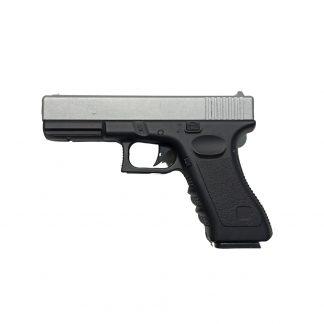 Pistola Airsoft Vigor V20 Réplica Glock Resorte Dos Tonos