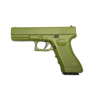 Pistola Airsoft Vigor Réplica Glock Full Metal Verde