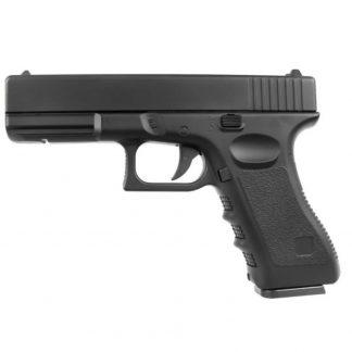 Pistola Airsoft Vigor Réplica Glock Full Metal Negro