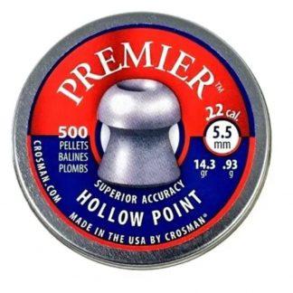 Balines Crosman Premier Hollow Point 5.5 mm x 250