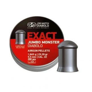 Balines Diabolo Exact Jumbo Monster 5.5 mm x 200