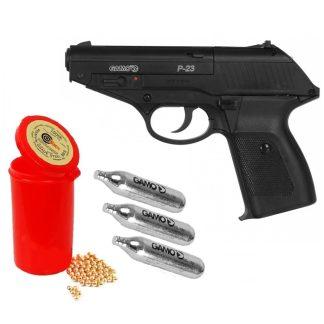 Pistola CO2 Gamo P-23 Calibre 4.5