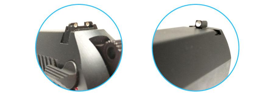 arma bersa tpr380 mira abierta