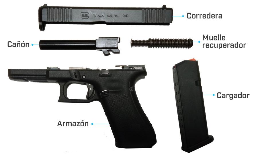 despiece glock 17