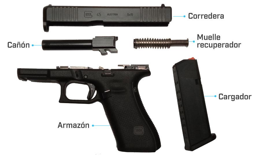 despiece glock 45 generacion 5