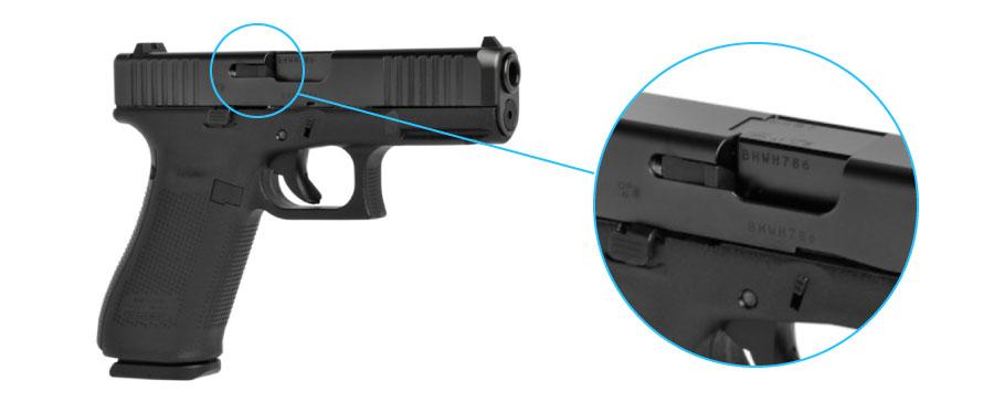 indicador de recamara cargada glock 45