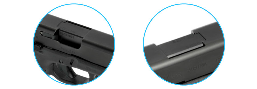 indicador de recamara glock 17 generacion 5