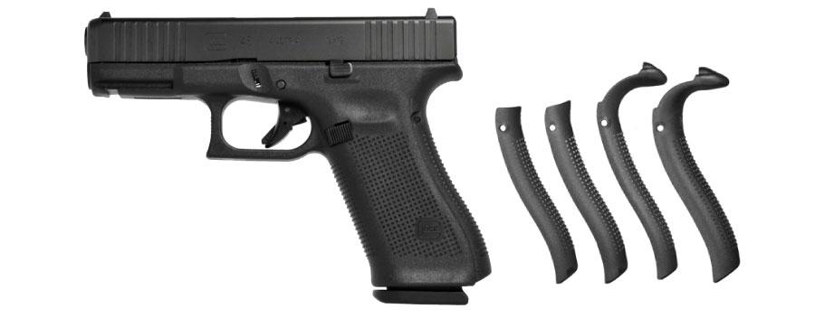 pistola glock 45 generacion 5 con correas traseras