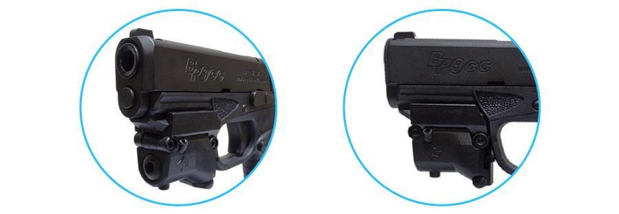 pistola bersa bp380cc con accesorios