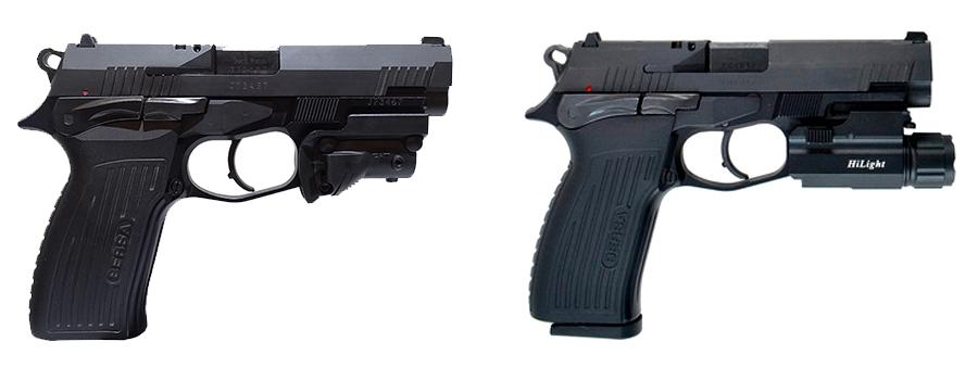 arma bersa tpr9 con laser y linterna