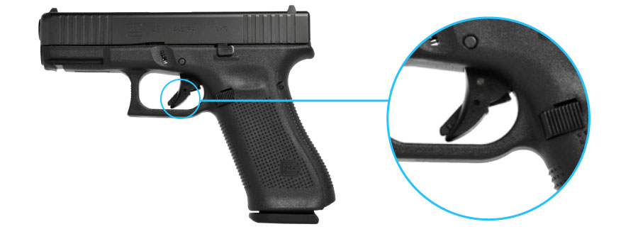 seguro de gatillo pistola glock 45 generacion 5